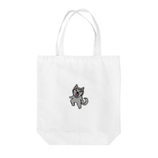 ハスキー犬ゆきちゃん Tote bags
