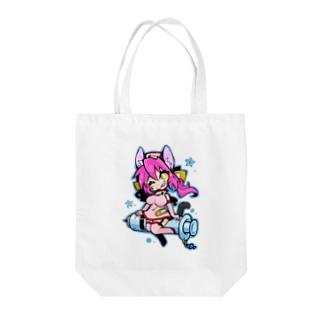 注射器ライド★ Tote bags