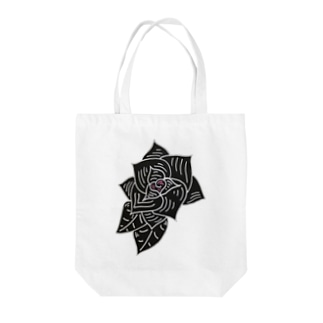 leather✖️ROSE Tote bags