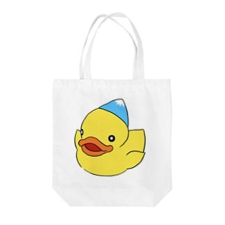 あひるちゃん Tote bags