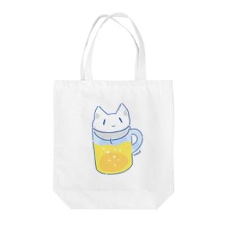 NekoP - びーる Tote bags