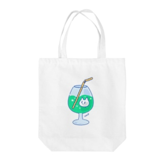 NekoP - じゅーす Tote bags