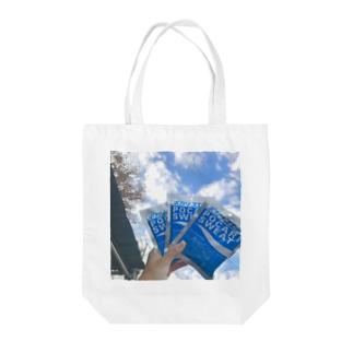 冬のポカリスエット Tote bags