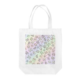 干支/カラフル Tote bags