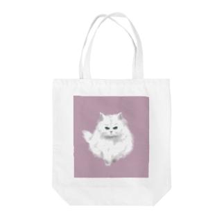 こゆき(おこ)くすみピンク Tote bags