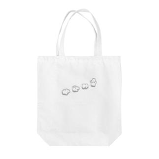 ころころ(モノクロ) Tote bags