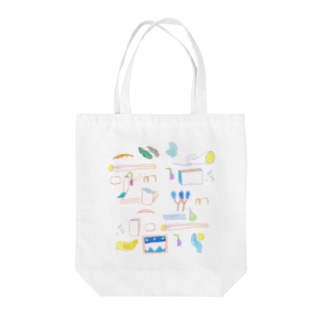 Drawings in Sydney Tote bags