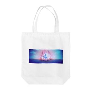 創造の地にて Tote bags