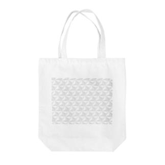 幾何学三角立体 Tote bags