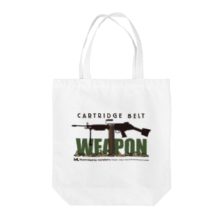 WEAPON Tote bags
