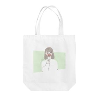 ワタシ Tote bags