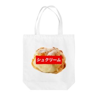シュクリームトート Tote bags
