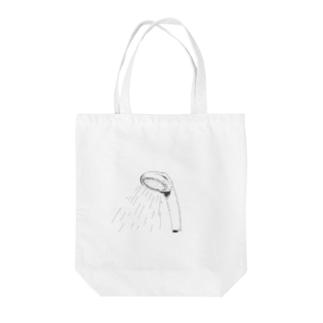 シャワー Tote bags