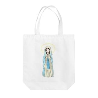 祈る女の子 Tote bags
