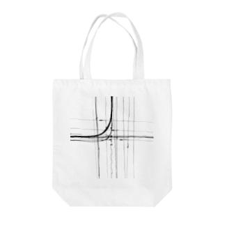電線5 Tote bags