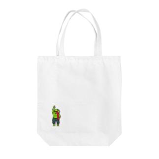 Pop-flog Tote bags