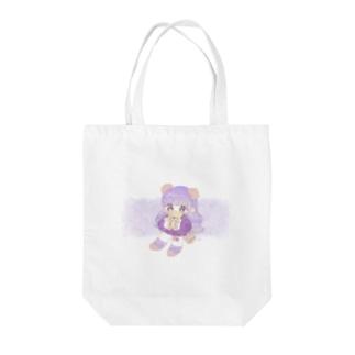 -oyasumi- Tote bags