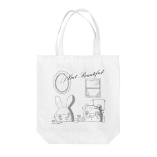 But Beautifulシリーズ Tote bags