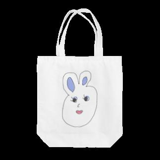 p_tachimachiのプライドタカコちゃん ウサギ Tote bags