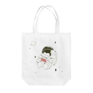 ペンギンコール・うちゅう Tote bags