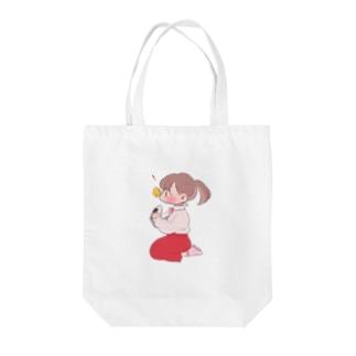 めろのピクニック Tote bags