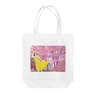 春風 Tote bags