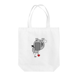 FUNNY FRIENDS(BABY) おどろき Tote bags