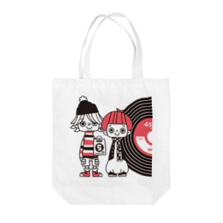 45RPM Tote bags