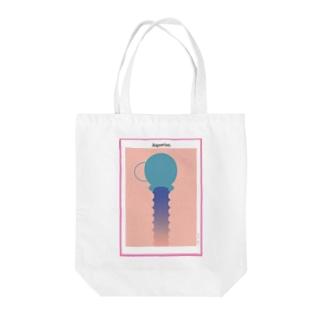 My horoscope <Aquarius> Tote bags