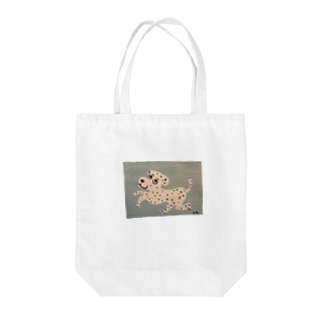 positive dog Tote bags
