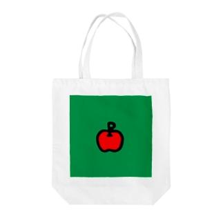 あの日のりんご Tote bags