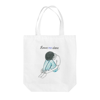 Leave me alone Tote bags
