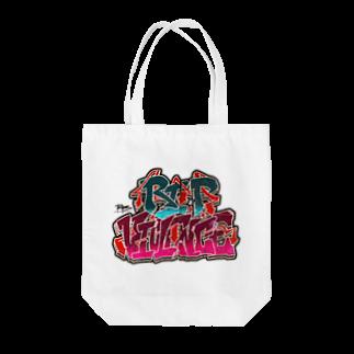 PB.DesignsのR.I.P-V Tote bags