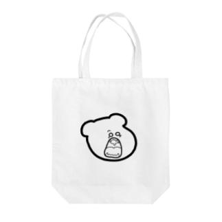 しろくま(くしゃみ寸前) Tote bags