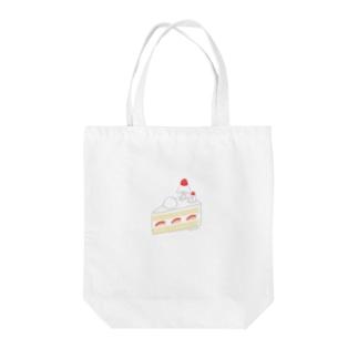 いちごのショートケーキ Tote bags