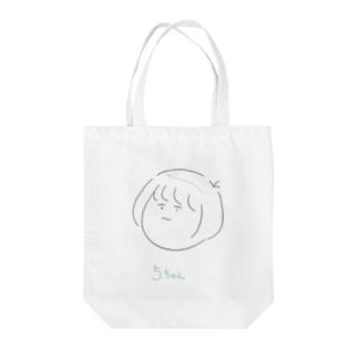 5ちゃん Tote bags