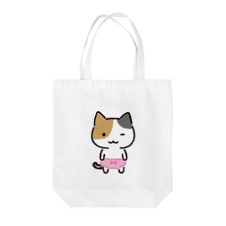 みけぱん Tote bags