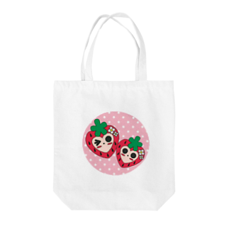 150%可愛く魅力的♥ラブリー♥いちごちゃん🍓のいちごちゃん🍓 Tote bags