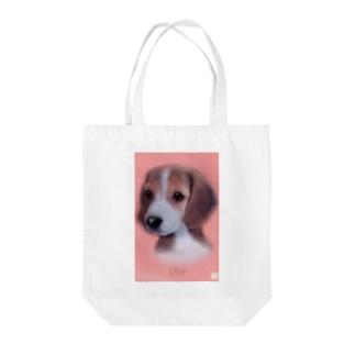 ベル4 Tote bags