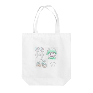 HAPPY END Tote bags