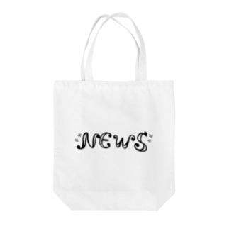 NEWS Tote bags