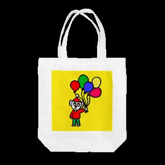 FUKUFUKU=:DESIGNのふうせんかってよ Tote bags
