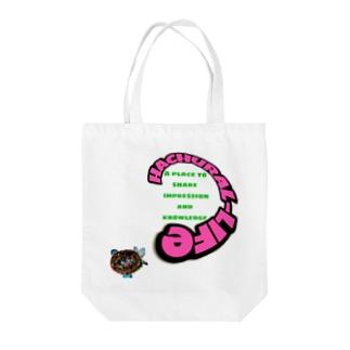 H-T 亀Logo Tote bags
