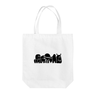 mouth monster Tote bags