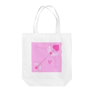 ♡Cutie arrow♡ Tote bags