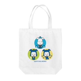 忍者犬&武士犬_集合 Tote bags