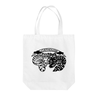CATHOUSE Tote bags