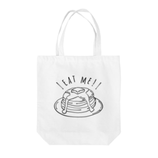 カフェ パンケーキ Tote bags