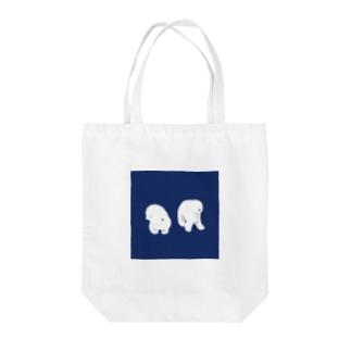 不思議なワンちゃん Tote bags