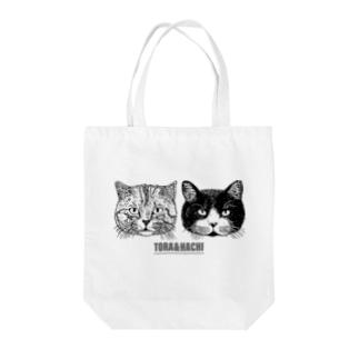 トラとハチ Tote bags
